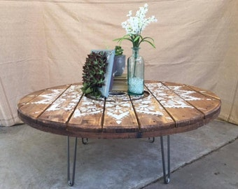 spool table | etsy