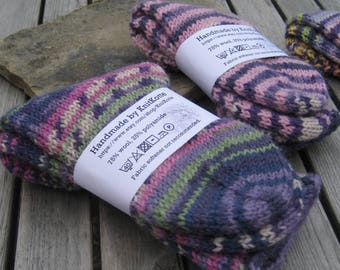 Teens' knitted socks