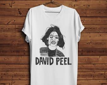 David Peel T shirt Tee | Singer Rockstar Rock Legend  Music Musician The Kings Of Punk (Men & Women T shirts)