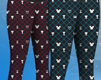Kingdom Hearts Yoga Pants