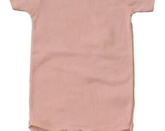 100% Organic Cotton Snappie - Seashell Pink - USA Grown & Sewn