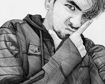 JackSepticEye Realism Drawing