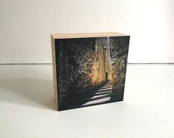 Welcome-bamboo photo block