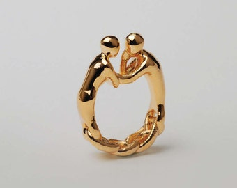 2gether Ring (24K Gold plated)