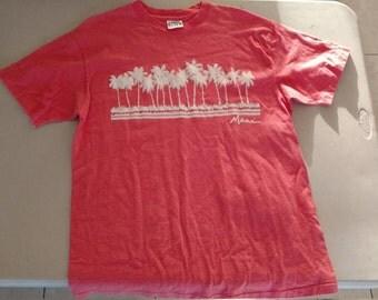 vintage 80s Maui Hawaii t shirt Large L