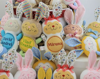 Personalized Easter Bunnies