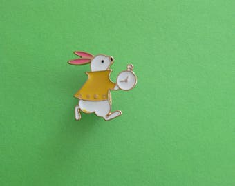 Badges rabbit from Alice in Wonderland from Disney