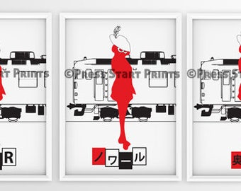 Persona 5 wall art | Etsy