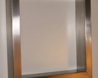 "Elegant Tabel Frames from Stainless Steel (V2A, AISI 304) - 70cm x 46cm (W/H)- 27 1/2"" x 18 1/10"" (W/H)"