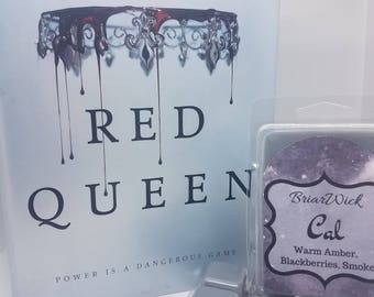 Cal- The Red Queen- Soy Vegan Wax Melts/Tarts