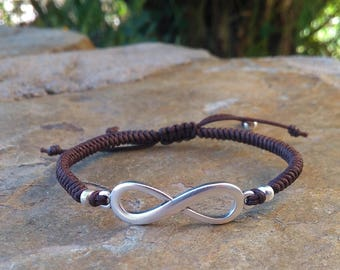 Infinite braided bracelet