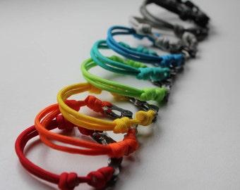 Paracord bracelet - Biker's