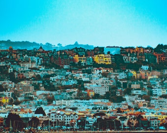 San Francisco Photography, Landscape Photography, San Francisco Print, San Francisco Skyline, San Francisco Poster, California Print