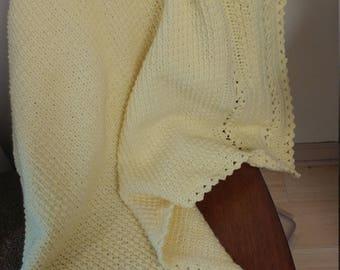 Yello Crochet Baby Blanket
