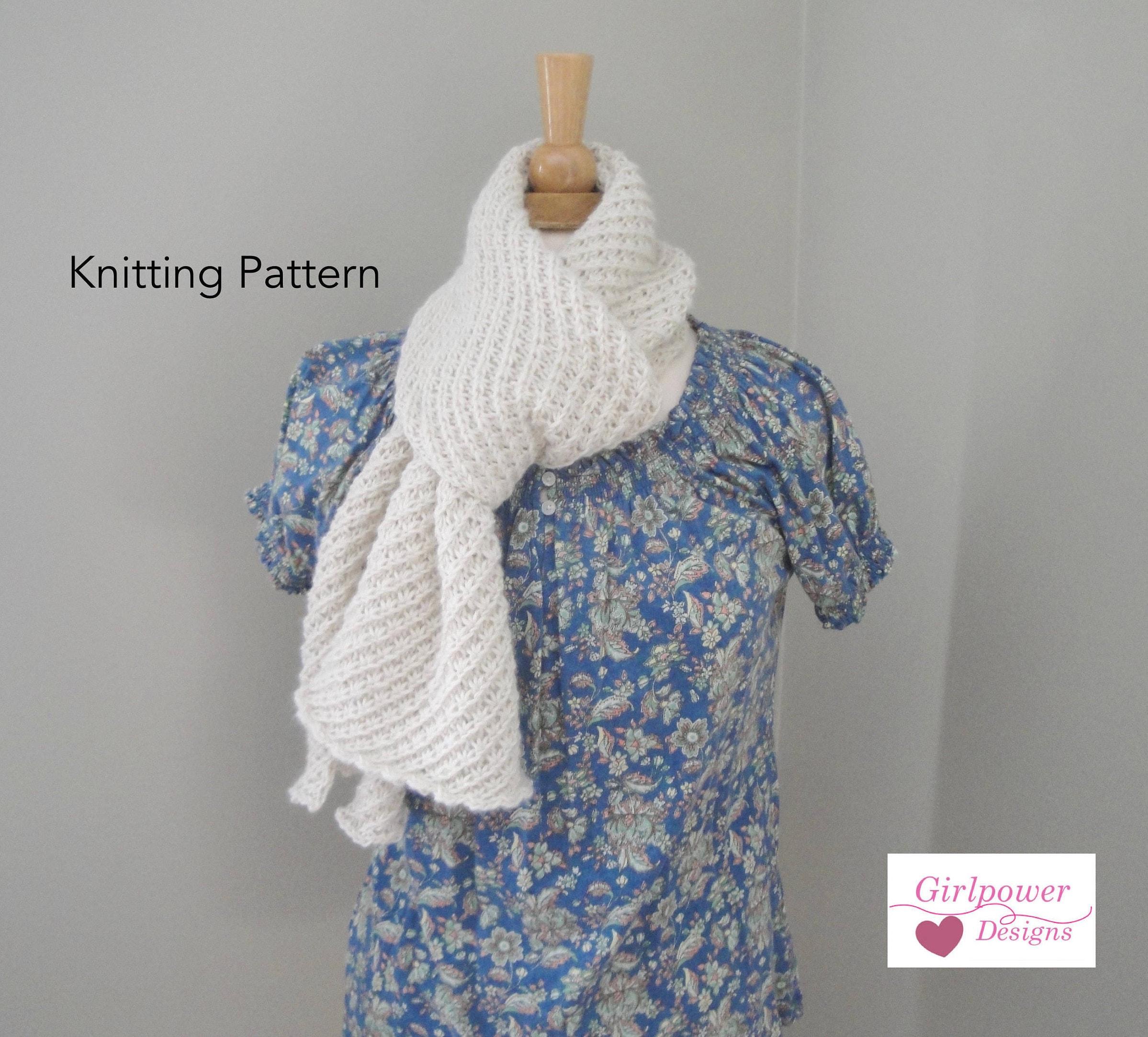 Star stitch scarf knitting pattern womens scarf mens scarf zoom bankloansurffo Gallery