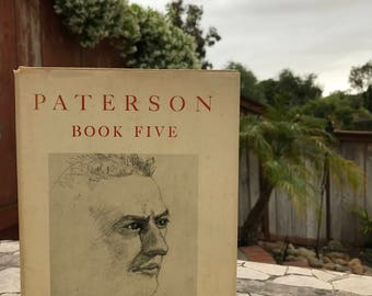 1958 Paterson Book Five by William Carlos Williams - Rare and Vintage!