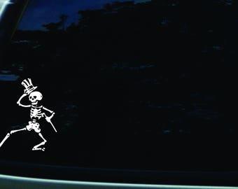 Dancing Skeleton Grateful Dead decal