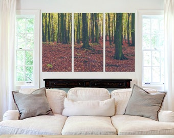 Leafy Forest  - Canvas Art