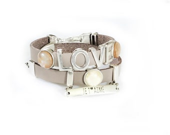 BIANCA LEATHER BRACELET