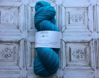 "Elliebelly Talia Sport Merino -  ""Blue Eggs & Ham"""