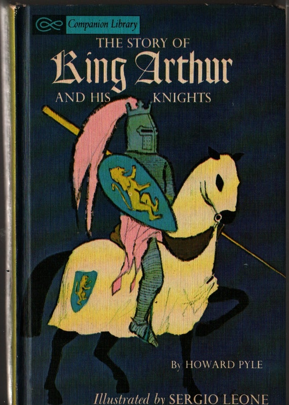 The Adventures of Pinocchio / The Story of King Arthur and His Knights  - Howard Pyle, C. Collodi & Mariano Leone - 1965 - Vintage Kids Book