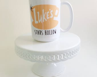 Gilmore Girls 15 oz Coffee Mug. Made in the Midwest. Large Coffee Mug. Coffee Lovers Mug. Lorelai Gilmore Coffee Mug. Lukes Diner Mug.