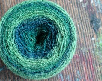 Pure wool knitting yarn - 91 g
