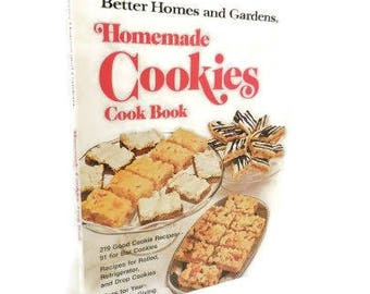 Homemade Cookies Cook Book | Better Homes And Gardens Cookie Cookbook