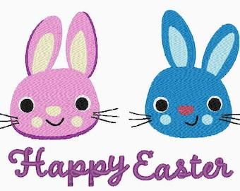 Sweet Little Easter Bunny Embroidery Designs