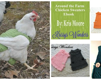 Chicken sweaters Etsy