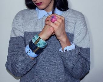 novo_5, resin bangle, made in italy