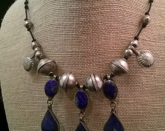 RESERVED FOR SHERRY: Afghan amulet necklace