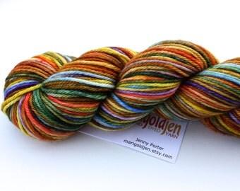 Tutti Frutti--hand dyed worsted weight, merino superwash (218yds/100gm)