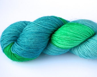 Rock Candy--hand dyed sock yarn, BFL and nylon, (464yds/100gm)