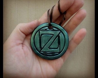 Citizen of Oz Ornament Polymer Clay Decor Official Medal Frank L Baum Dorothy Wizard Cosplay Costume Jewelry Pendant Tik Tok Scarecrow