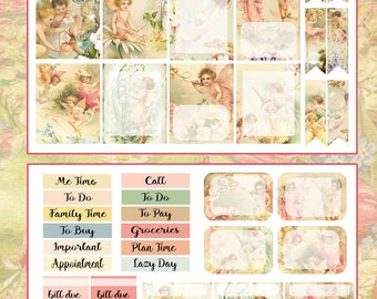 Spring with the Fairies Planner Stickers~