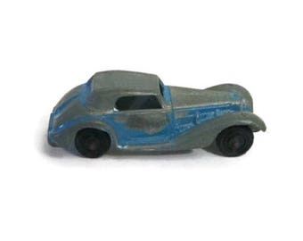 Diecast Tootsie Toy 1939 Mercedes Benz car - Tin - Mid century
