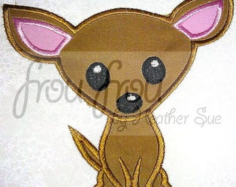 "Chihuahua Dog Digital Embroidery Design Machine Applique 4""-16"""