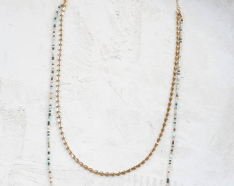 Long Coachella Necklace