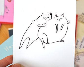 Cat Squeeze Postcards - Set of 10