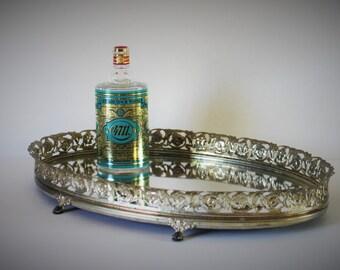 VINTAGE mirror tray / vintage tray / vintage mirror / wedding gift / vintage wedding gift / housewarming gift / vintage housewarming gift