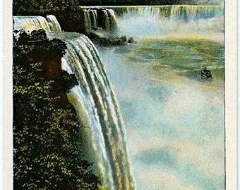 Vintage Niagara Falls Postcard - Prospect Point (Unused)