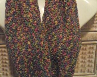 Crochet Cowl in Multi-Color