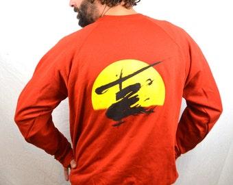 Vintage 1988 Miss Saigon Red Sweatshirt