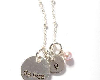 Dance Gift, Dance Recital, Dance Recital Gift, Tween Jewelry, Gift for a Dancer, Ballet Jewelry, Little Girl Jewelry, Dance Teacher Gift