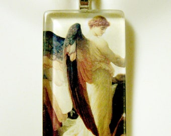 Angel of the annunciation pendant with chain - GP01-267