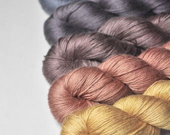 Code of Chivalry - Gradient of Silk/Cashmere Lace Yarn