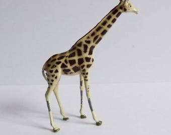 Vintage Britain lead Circus Giraffe miniature African Zoo animal Made England