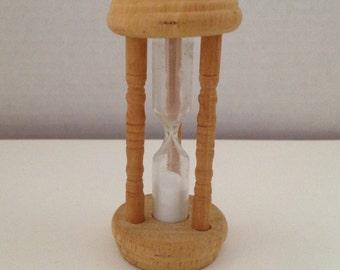 Egg Timer Vintage Wood 3 Minute Hourglass Timer Wooden