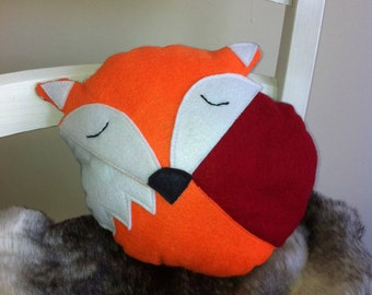 Orange fox softie
